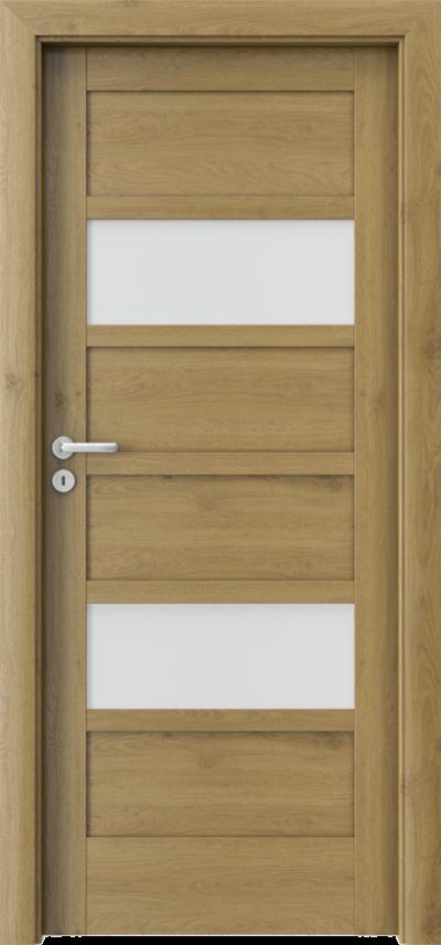Drzwi wewnętrzne Porta VERTE HOME, A A.8 Okleina Portaperfect 3D **** Dąb Naturalny