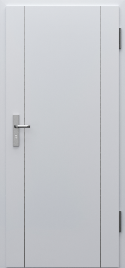 Technical doors INNOVO 42 dB Intarsje 9 CPL HQ 0,7 laminate ****** Grey Euroinvest