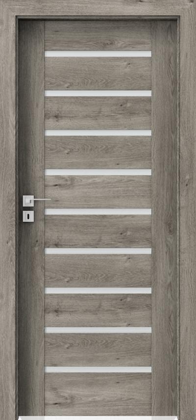 Drzwi wewnętrzne Porta KONCEPT A.9 Okleina Portaperfect 3D **** Dąb Syberyjski