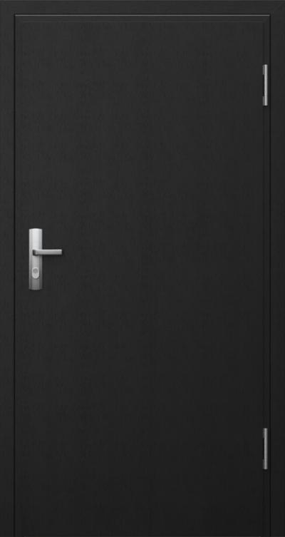 Drzwi techniczne Przeciwpożarowe EI 30 płaskie