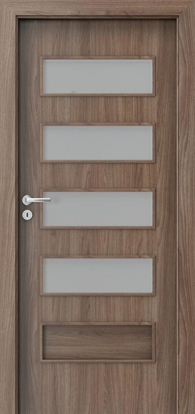 Interior doors Porta FIT G.4 Portadecor veneer *** Walnut Verona 2
