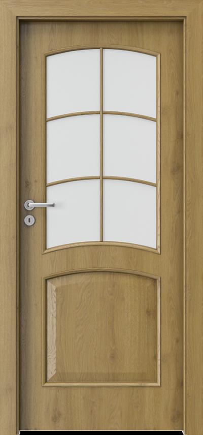 Drzwi wewnętrzne Porta NOVA 6.2 Okleina Portaperfect 3D **** Dąb Naturalny