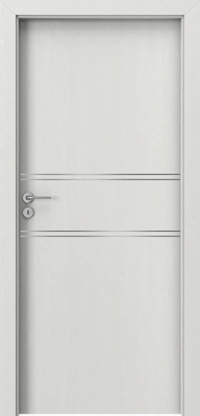 Drzwi wewnętrzne Porta LINE C.1 Okleina Portasynchro 3D *** Wenge White