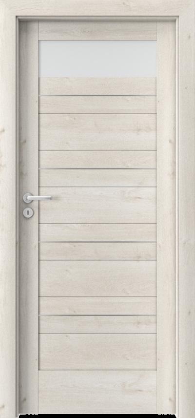 Drzwi wewnętrzne Porta VERTE HOME, C C.1 intarsje Okleina Portaperfect 3D **** Dąb Skandynawski