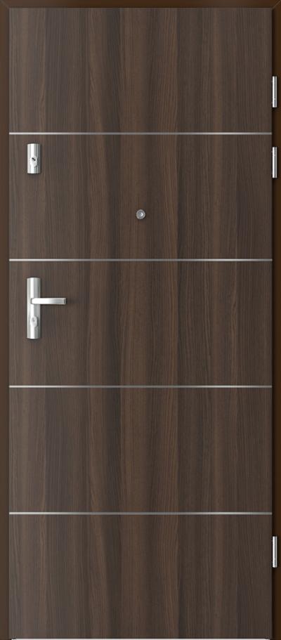 Drzwi wejściowe do mieszkania KWARC intarsje 6