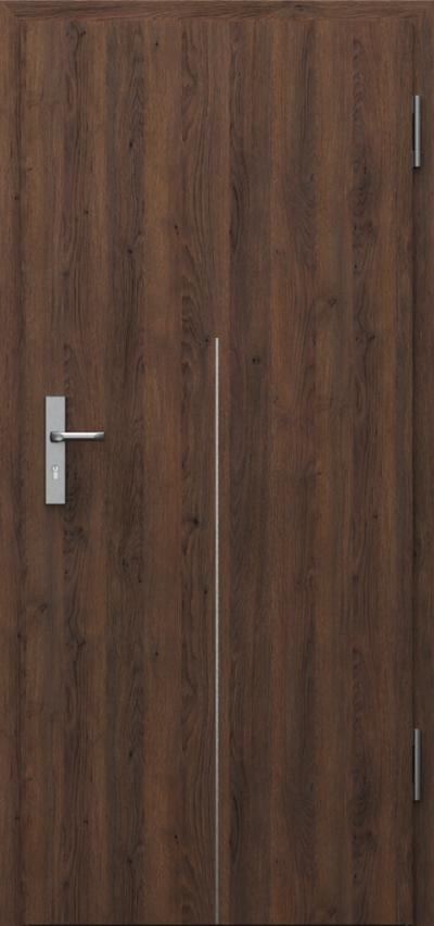 Drzwi techniczne INNOVO 37dB Intarsje 9 Gladstone
