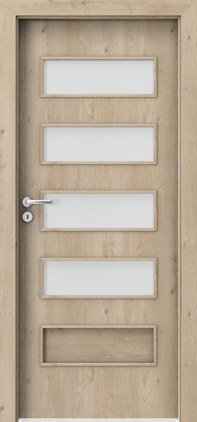 Drzwi wewnętrzne Porta FIT G.4 Okleina Portaperfect 3D **** Dąb Klasyczny