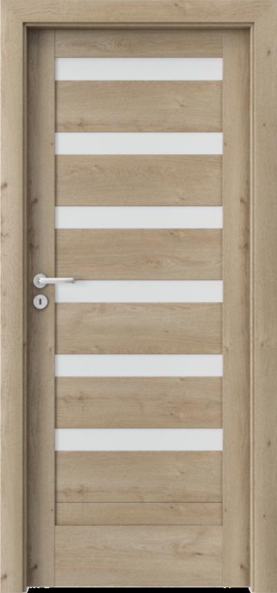 Drzwi wewnętrzne Porta VERTE HOME, D D.6 Okleina Portaperfect 3D **** Dąb Klasyczny