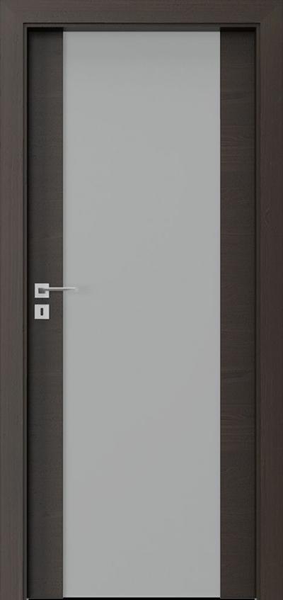 Drzwi wewnętrzne Villadora MODERN SandS03 Okleina Naturalna Select **** Orzech Ciemny