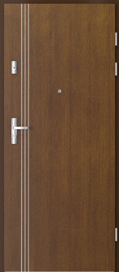 Drzwi wejściowe do mieszkania GRANIT intarsje 3