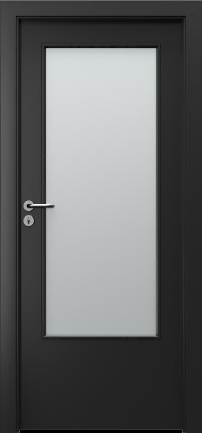 Drzwi wewnętrzne Porta CPL 1.3 Okleina CPL HQ 0,2 ***** Czarny