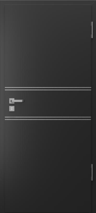Drzwi techniczne Porta SILENCE 37 dB + EI30 intarsje 4