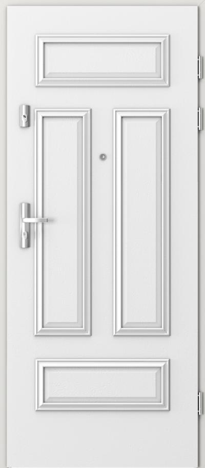 Drzwi wejściowe do mieszkania GRANIT ramka 4