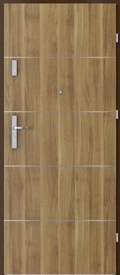 Podobne produkty Drzwi wejściowe do mieszkania AGAT Plus intarsje 6