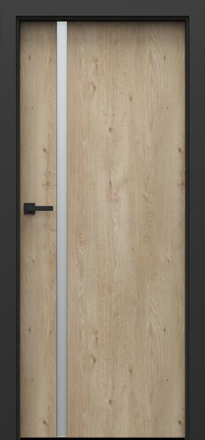 Drzwi wewnętrzne Porta LOFT 4.A Okleina Portaperfect 3D **** Dąb Klasyczny