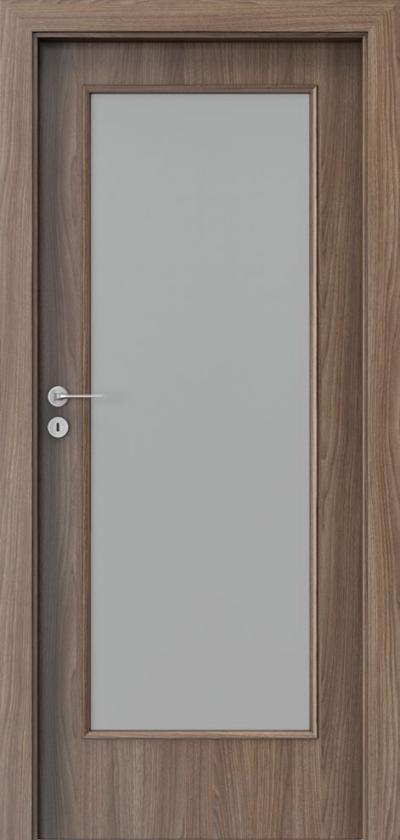 Interior doors Porta NOVA 2.2 Portadecor veneer *** Walnut Verona 2