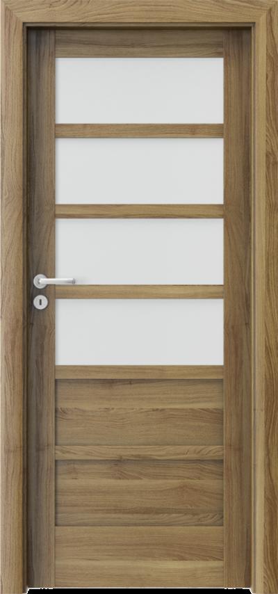 Drzwi wewnętrzne Porta VERTE HOME, A A.4 Okleina Portasynchro 3D *** Akacja Miodowa