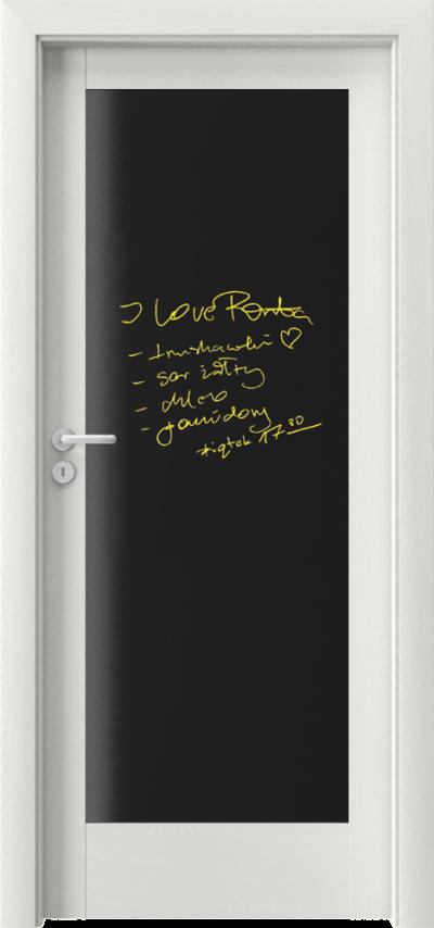 Drzwi wewnętrzne Porta VERTE HOME, E-F E.0 tablica Okleina Portasynchro 3D *** Wenge White