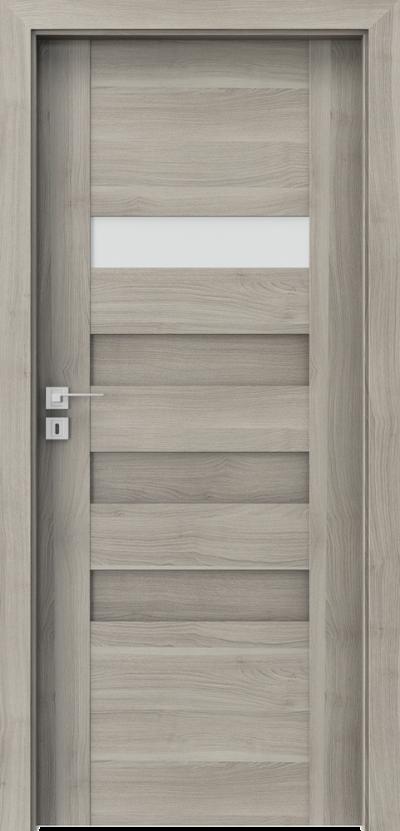 Drzwi wewnętrzne Porta KONCEPT H.1 Okleina Portasynchro 3D *** Akacja Srebrna