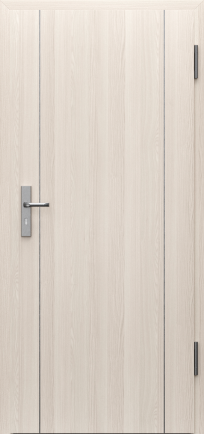 Technical doors INNOVO 42 dB Intarsje 9 CPL HQ 0,7 laminate ****** Walnut White