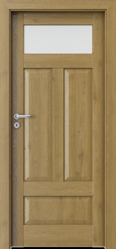Drzwi wewnętrzne Porta HARMONY B.1 Okleina Portaperfect 3D **** Dąb Naturalny