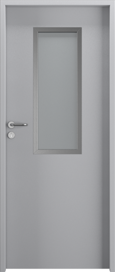 Drzwi techniczne Steel SOLID 1