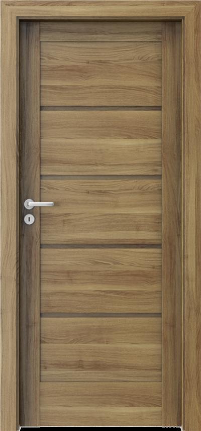 Drzwi wewnętrzne Porta VERTE HOME, G G.0 Okleina Portasynchro 3D *** Akacja Miodowa