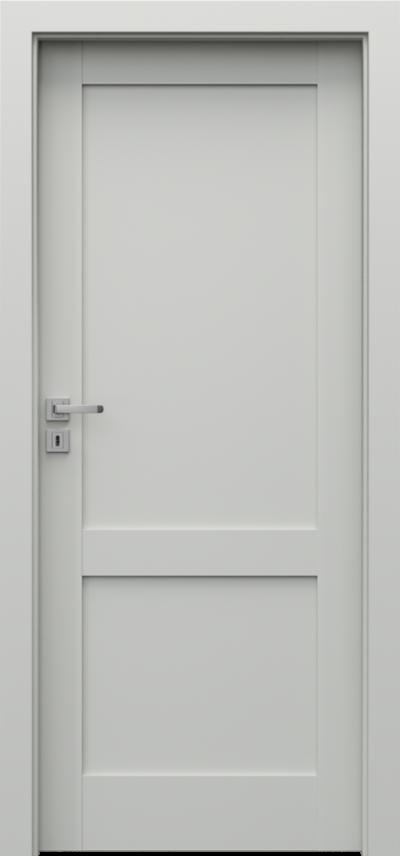 Drzwi wewnętrzne Porta GRANDE C.0 Farba Akrylowa UV ***** Szary