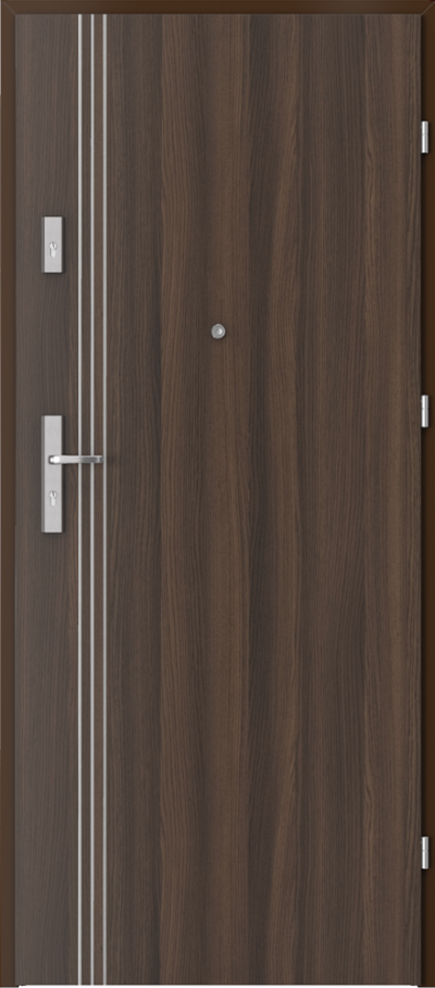 Podobne produkty Drzwi wejściowe do mieszkania OPAL Plus intarsje 3