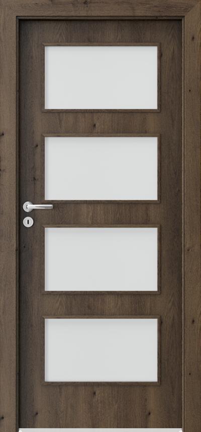 Drzwi wewnętrzne Porta FIT H.4 Okleina Portaperfect 3D **** Dąb Południowy