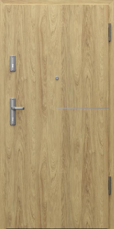 Drzwi wejściowe do mieszkania EXTREME RC3 intarsje 8