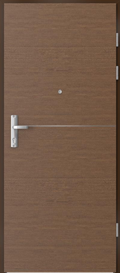 Drzwi wejściowe do mieszkania EXTREME RC3 intarsje 7