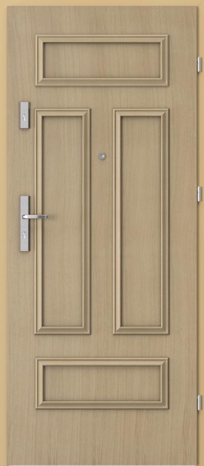 Drzwi wejściowe do mieszkania AGAT Plus ramka 2