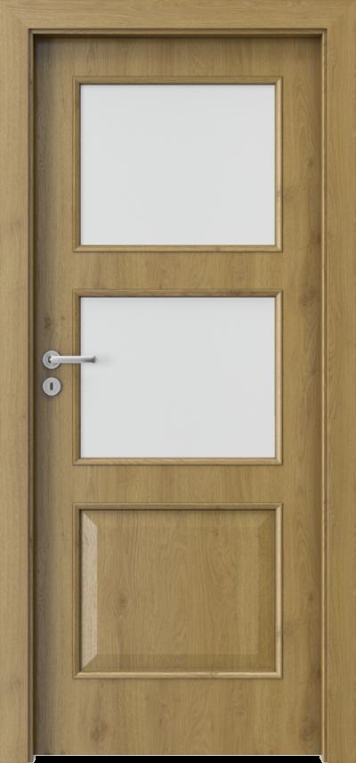 Drzwi wewnętrzne Porta NOVA 4.3 Okleina Portaperfect 3D **** Dąb Naturalny