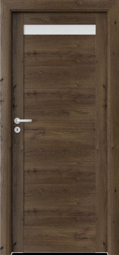 Drzwi wewnętrzne Porta VERTE HOME, D D.1 Okleina Portaperfect 3D **** Dąb Południowy