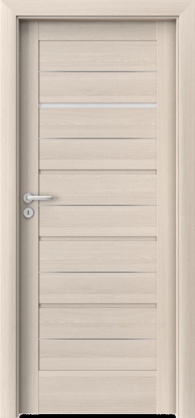 Drzwi wewnętrzne Porta VERTE HOME, G G.1 intarsje Okleina Portadecor *** Orzech Bielony