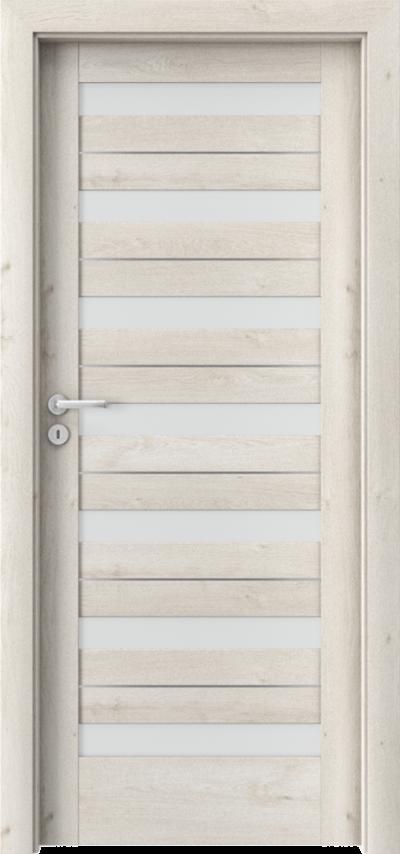Drzwi wewnętrzne Porta VERTE HOME D.7 intarsje