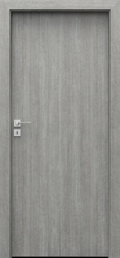 Drzwi wewnętrzne Porta LINE H.1 Portalamino**** Dąb Srebrzysty
