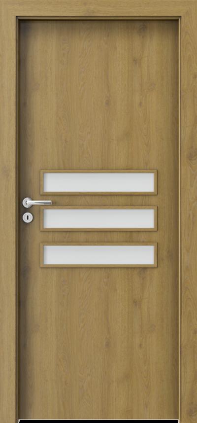 Drzwi wewnętrzne Porta FIT E.3 Okleina CPL HQ 0,2 ***** Dąb Naturalny