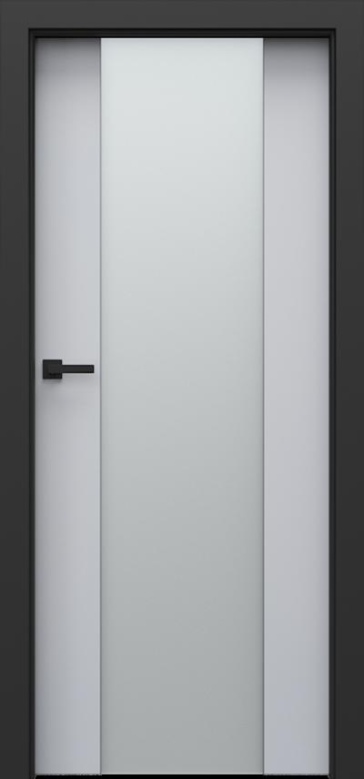 Drzwi wewnętrzne Porta LOFT 4.B Okleina CPL HQ 0,2 ***** Popielaty Euroinvest