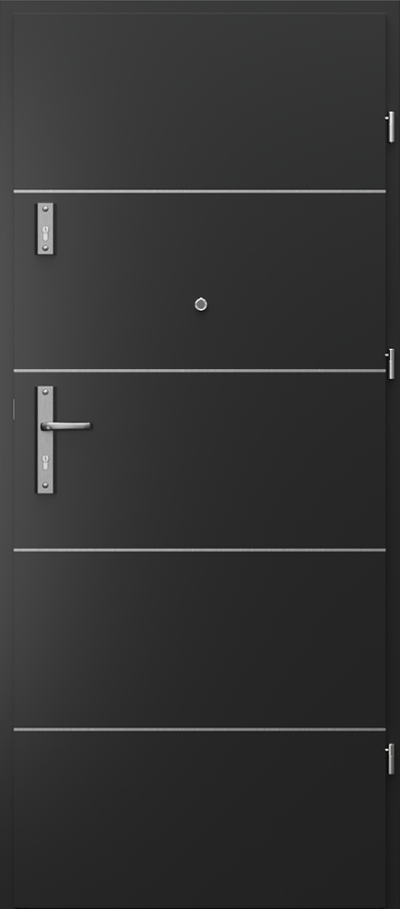Drzwi wejściowe do mieszkania OPAL RC2 intarsje 6