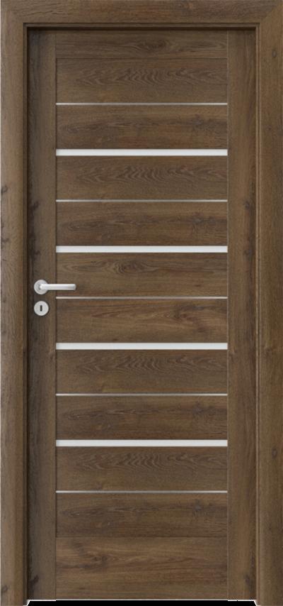 Drzwi wewnętrzne Porta VERTE HOME G.4 intarsje