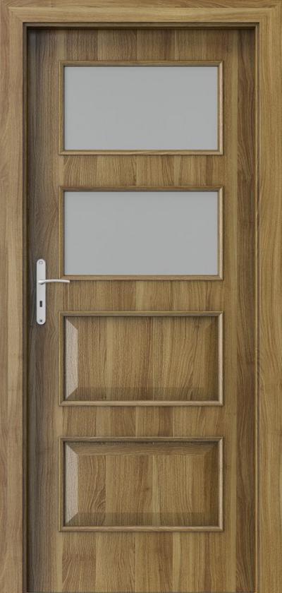 Drzwi wewnętrzne Porta NOVA 5.3 Okleina Portasynchro 3D *** Akacja Miodowa