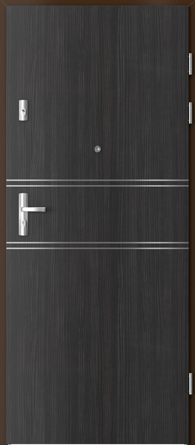 Drzwi wejściowe do mieszkania KWARC intarsje 4