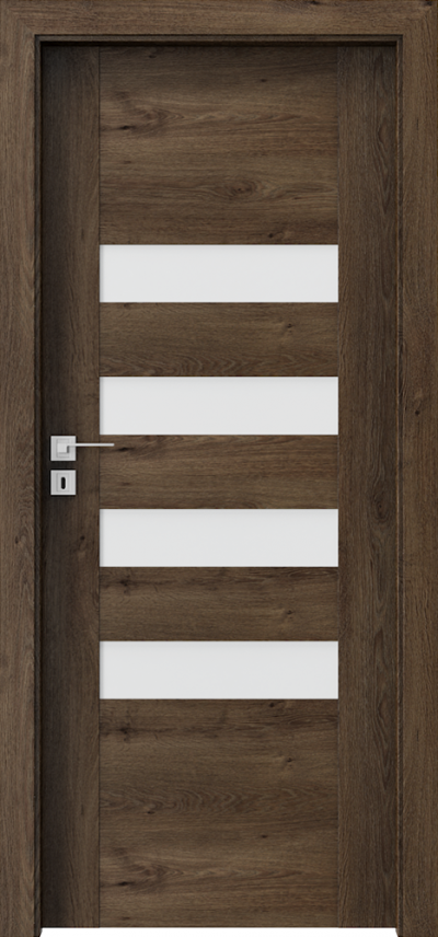 Interior doors Porta CONCEPT H.4 Portaperfect 3D veneer **** South Oak