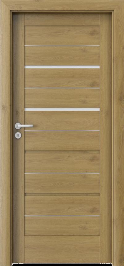 Drzwi wewnętrzne Porta VERTE HOME G.2 intarsje