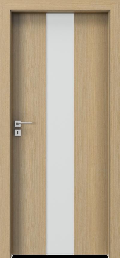 Drzwi wewnętrzne Villadora MODERN SpaceS03 Okleina Naturalna Dąb **** Dąb 1