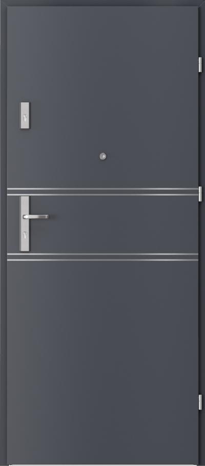 Podobne produkty                                  Drzwi wejściowe do mieszkania                                  AGAT Plus intarsje 4