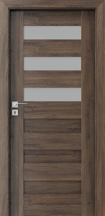 Drzwi wewnętrzne Porta KONCEPT C.3 Okleina Portasynchro 3D *** Dąb Szkarłatny