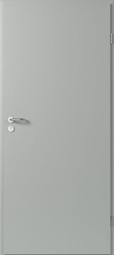 Drzwi techniczne Metalowe Pełne